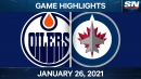 Ehlers, Copp have four points each as Jets beat Oilers