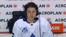 Marner credits Andersen's performance in Maple Leafs win over Flames