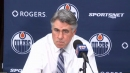 Tippett believes Oilers have improved, but not at top of their game yet