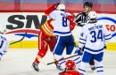 Calgary 3, Toronto 4: Flames still can't play 3 periods