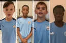 Man City academy players pay their own special tribute to Colin Bell