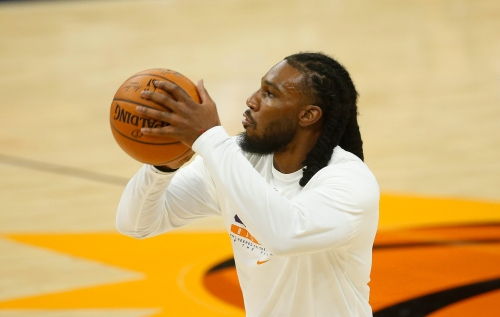 Phoenix Suns forward Jae Crowder on his response to death threats, his role in lineup