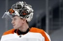Carter Hart is learning a Smashing Pumpkins song
