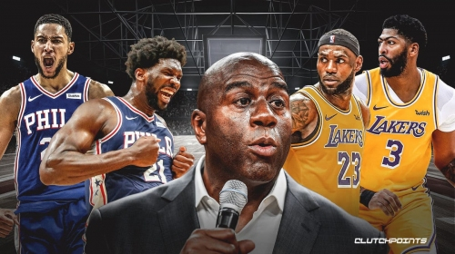 Magic Johnson makes bold prediction after Joel Embiid, Sixers beat Lakers