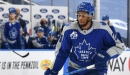Wayne Simmonds could be playing his way up the Leafs' lineup with hard work, recent hot streak