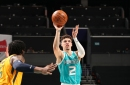 Recap: LaMelo Ball sets career high but Hornets are outmatched by the Jazz, 138-121