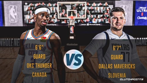 Shai Gilgeous-Alexander-Luka Doncic tale of the tape shows surprising results