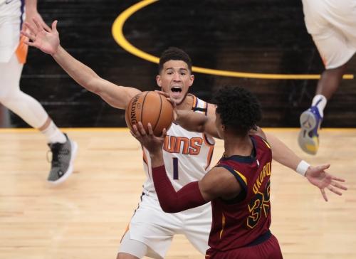 Phoenix Suns vs. Cleveland Cavaliers game photos