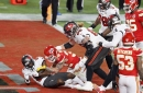 Buccaneers WR Antonio Brown ran the wrong route on touchdown catch