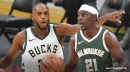 Bucks' Khris Middleton confirms speculation on Jrue Holiday's absence vs. Nuggets