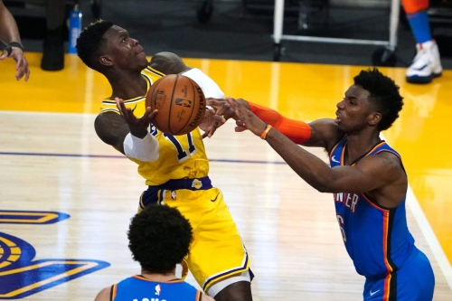 Effort far from missing ingredient for Thunder in 119-112 overtime loss to Lakers