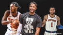 What Derrick Rose immediately told Immanuel Quickley, Obi Toppin after joining New York