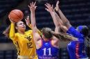 WVU Women Grind Out Win Over Kansas