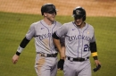 Hochman: Arenado's cousin and fellow Major Leaguer, Fuentes played college ball in St. Louis at Missouri Baptist