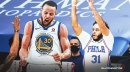Warriors star Stephen Curry reacts to brother, Seth Curry, posting greatest shooting splits of all-time