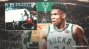 Bucks' Giannis Antetokounmpo gives telling reaction to crucial no-call on Jae Crowder