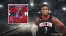 Rockets' Victor Oladipo throws down aggressive slam over Heat's Duncan Robinson