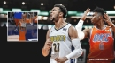 VIDEO: Jamal Murray's halfcourt heave gets major assist from Thunder player