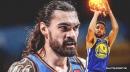 Warriors star Klay Thompson's 'insane' Game 6 vs. Thunder gets Steven Adams treatment