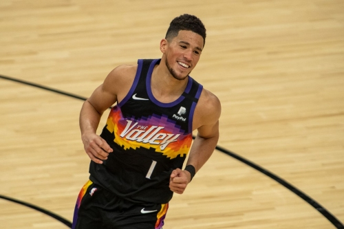 Devin Booker earns Western Conf Player of the Week