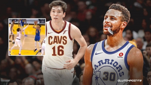 Warriors' Stephen Curry confuses the hell out of Cedi Osman with nifty handles