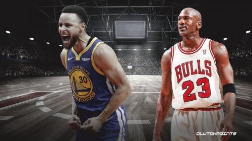 Warriors' Stephen Curry records epic 25-point streak last achieved by Michael Jordan