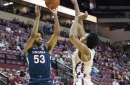 Tony Bennett, Tomas Woldetensae react to Virginia's loss to Florida State