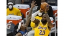 A.D.-less Lakers fend off Timberwolves with team effort