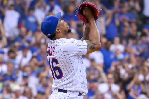 Cubs sign Pedro Strop to minor-league deal