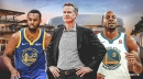 Warriors coach Steve Kerr weighs in on Andrew Wiggins-Andre Iguodala comparisons