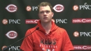 Cincinnati Reds' Sonny Gray was frustrated at times by offseason trade rumors