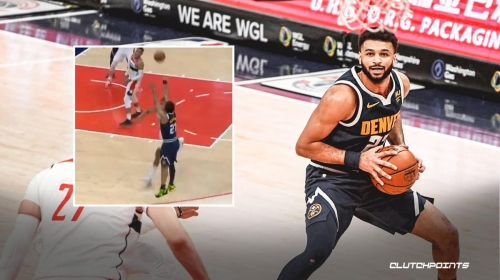 VIDEO: Nuggets star Jamal Murray connects extremely clutch back-to-back 3-pointers vs. Wizards