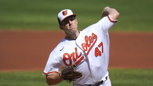 Orioles pitcher John Means found his best form to end 2020, so the only change is his mustache