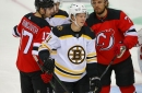 Bruins lines vs. Devils: Wings shuffled around