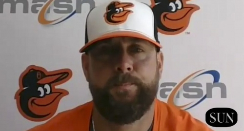 Orioles pitching coach Chris Holt familiarity with the young pitchers | VIDEO
