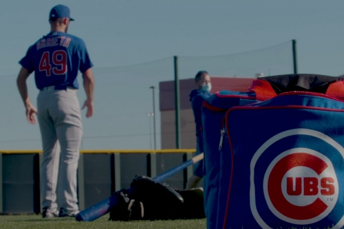 2021 Cubs spring training: More pitcher workout video