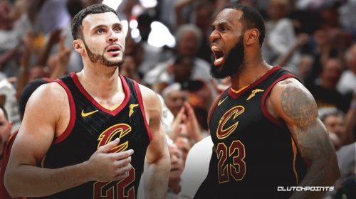 What it was really like playing with LeBron James, per Cavs' Larry Nance Jr.