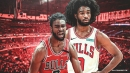 Bulls guard Coby White leaves Sixers matchup with knee contusion