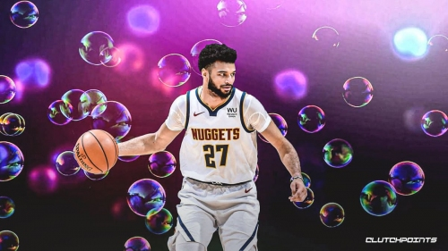 Nuggets guard Jamal Murray channels his bubble self in 50-point night vs. Cavs