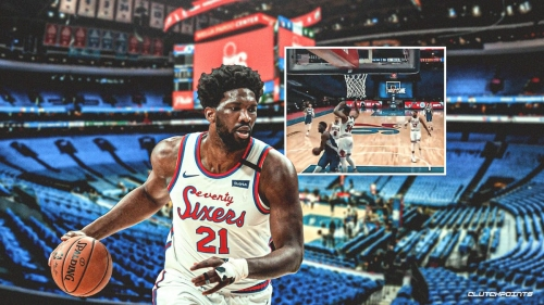 VIDEO: Joel Embiid goes point guard mode with coast to coast moves for Sixers