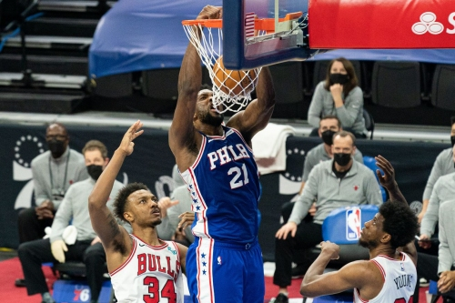 Bulls vs. 76ers final score: Joel Embiid's 50 points too much for Chicago in 112-105 loss