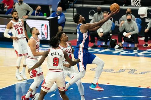 Sixers Bell Ringer: Joel Embiid's career-high 50 points lifts Sixers over Bulls