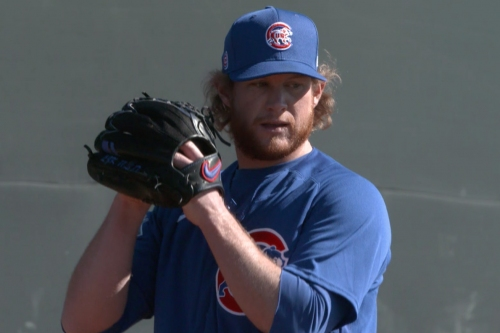 2021 Cubs spring training: Even more pitcher workout video