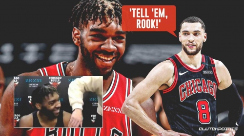 Bulls star Zach LaVine hilariously pressures Patrick Williams to call him an All-Star