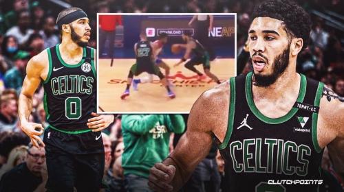 Celtics' Jayson Tatum has Pelicans defenders spinning in circles