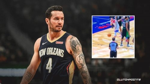 VIDEO: Pelicans' J.J. Redick gets ejected for highly suspect call by the official