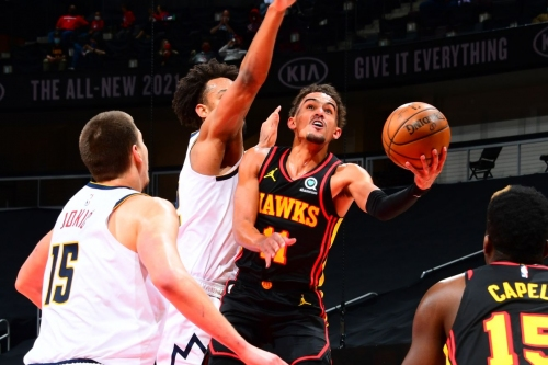 Hawks use Trae Young third quarter burst to bury Nuggets, 123-115