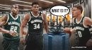 Bucks' Giannis Antetokounmpo, Donte DiVincenzo reveal 'surprise' they got for Kings game