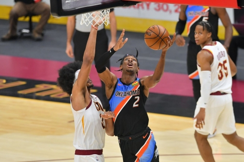 Thunder snap 3-game losing streak behind SGA's 31 points to win 117-101