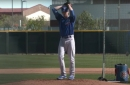 2021 Cubs spring training: Pitcher workouts and fielding and batting practice video